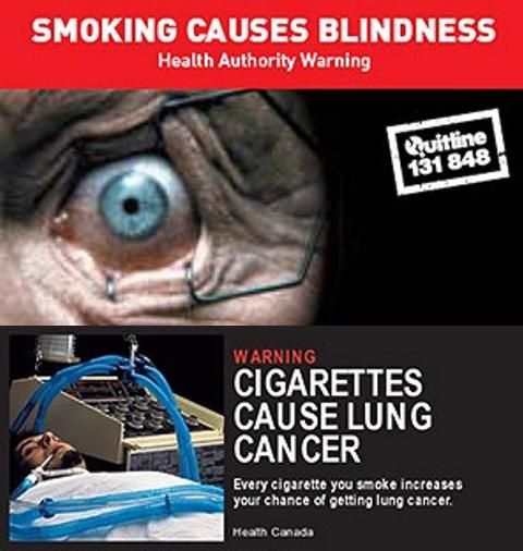 Smoking warnings