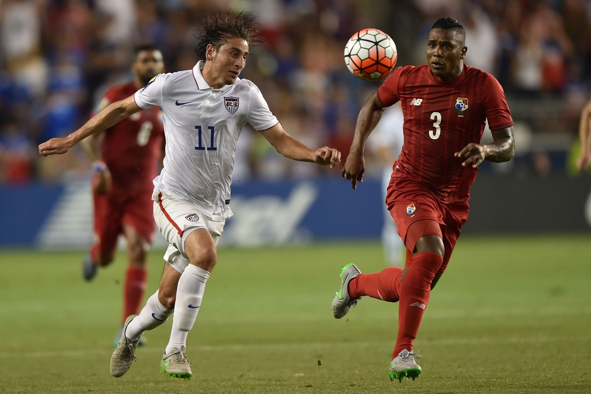 Alejandro Bedoya (11) proved his worth in the draw between the USA and Panama.