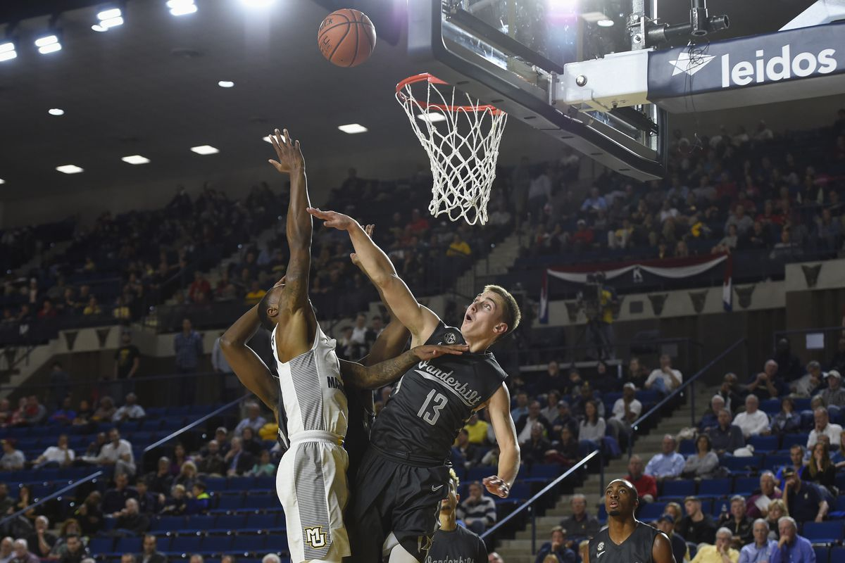 The only photo of 2016-2017 Vanderbilt basketball action currently available for selection.