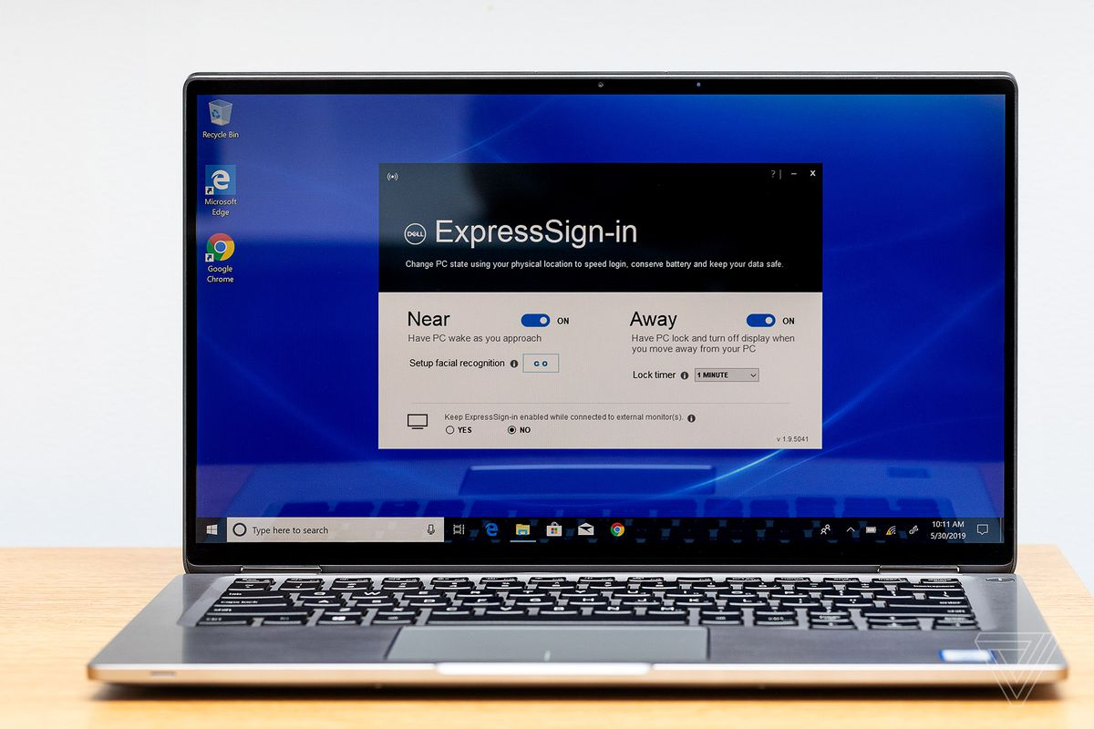 Dell Latitude 7400 2-in-1 with Dell Express Sign in