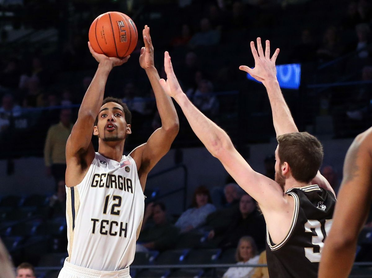 NCAA Basketball: Wofford at Georgia Tech