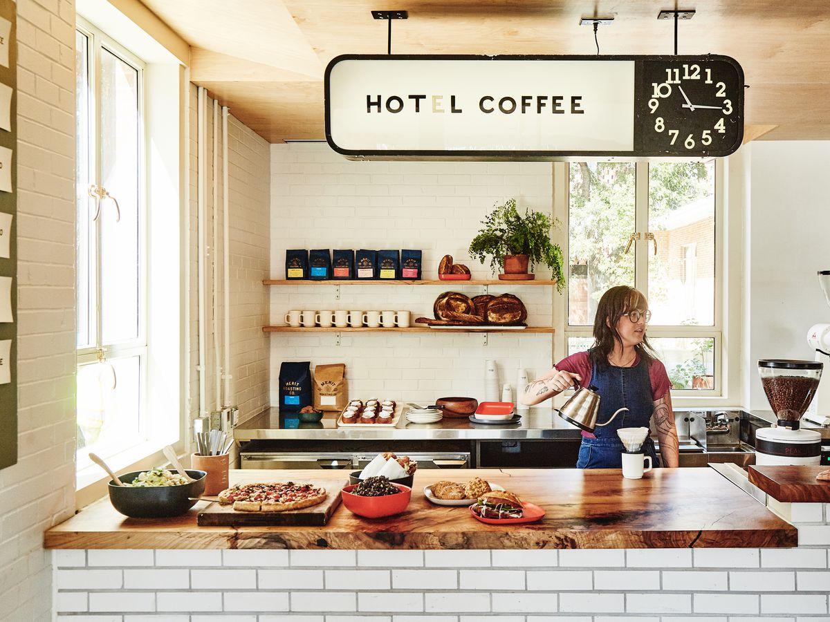 Hot L Coffee and Amanda Farris