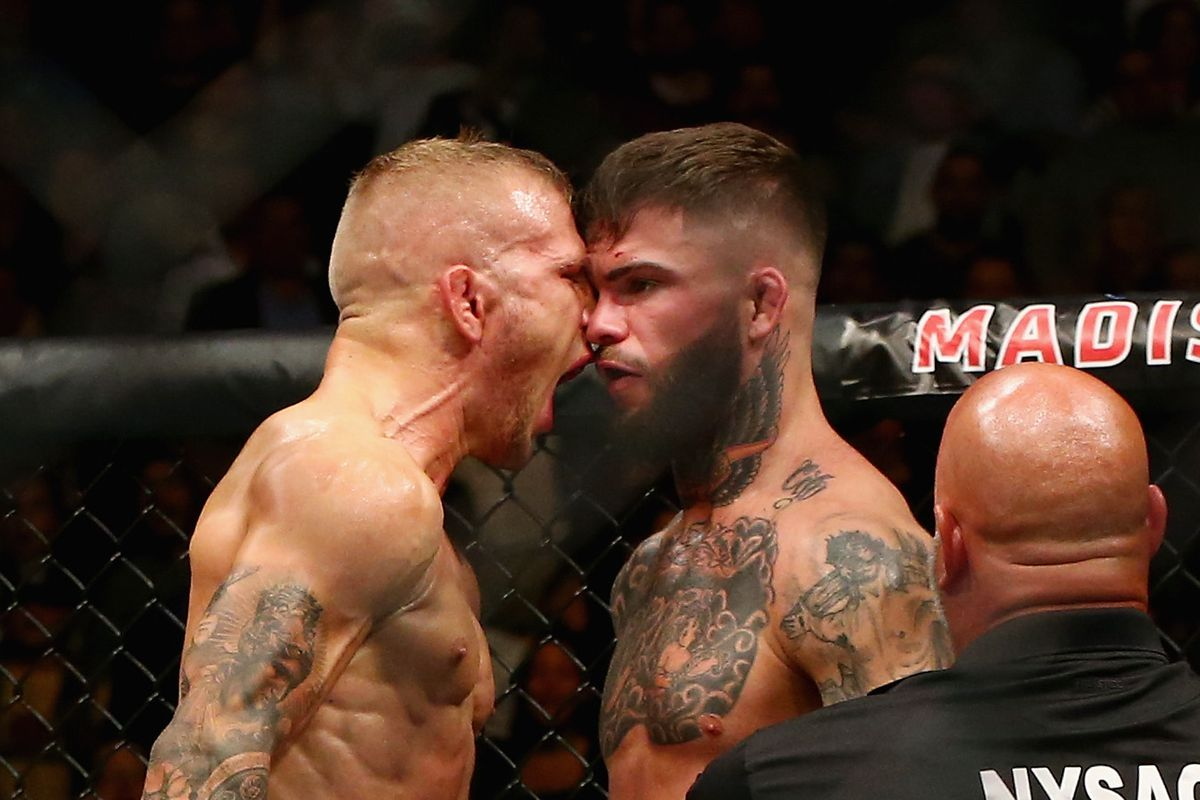 UFC 227 midweek betting odds: T.J. Dillashaw & Cody Garbrandt at pick'em  lines in rematch - Bloody Elbow