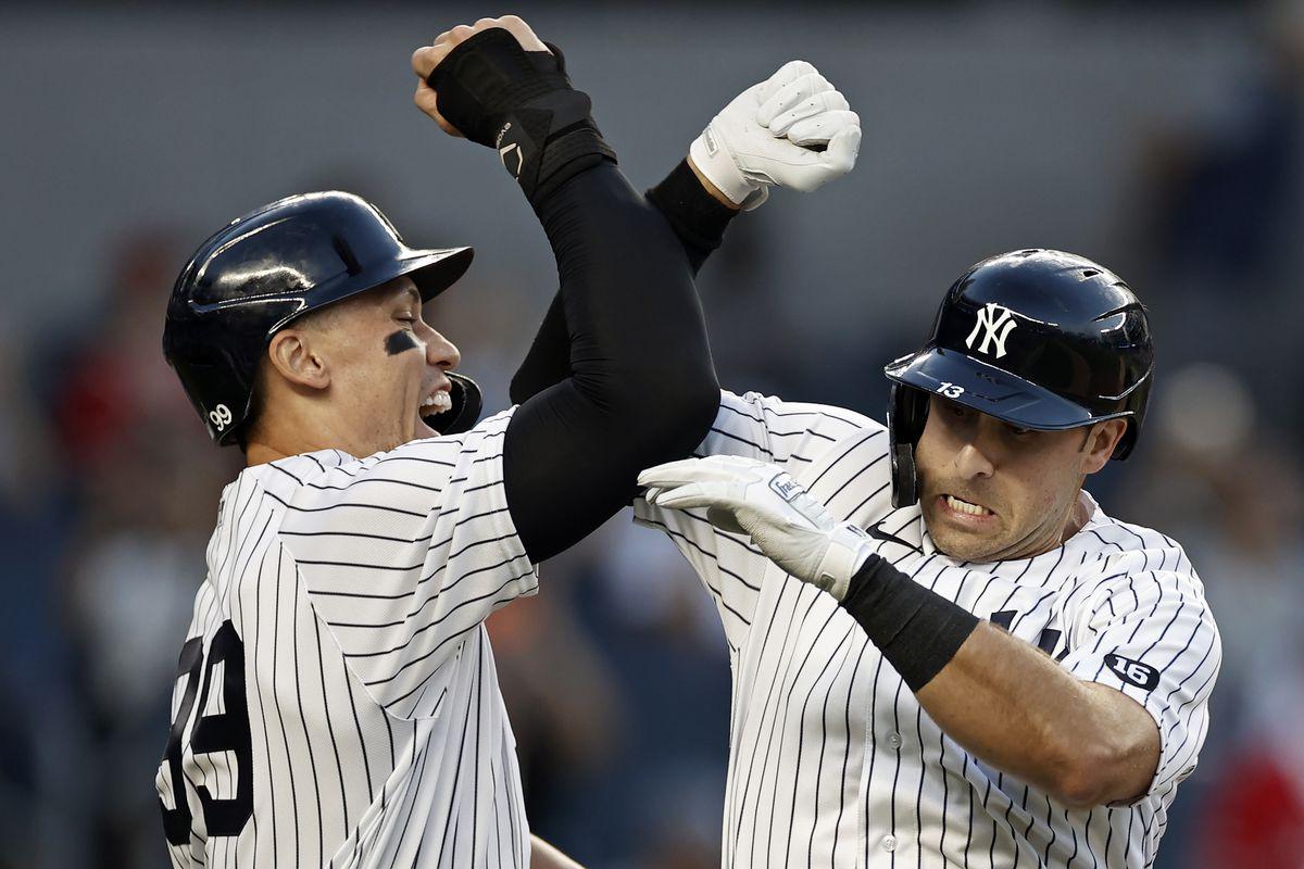 Los Angeles Angels v New York Yankees