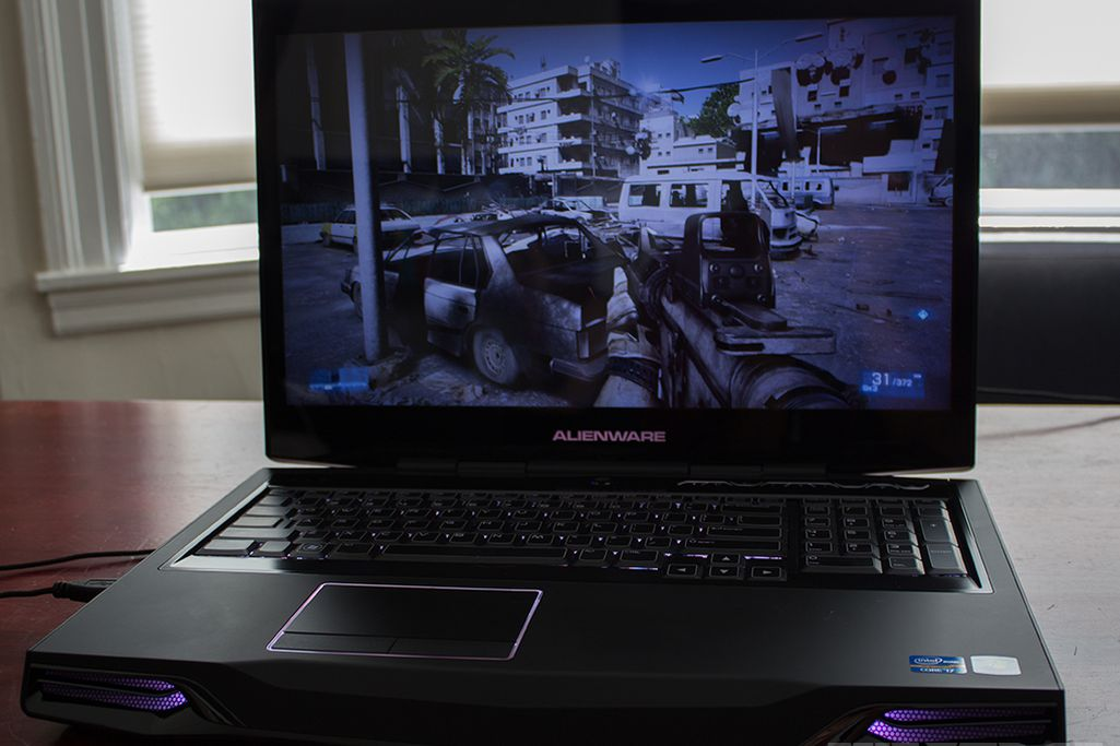 alienware m17x r4 review the verge. Black Bedroom Furniture Sets. Home Design Ideas
