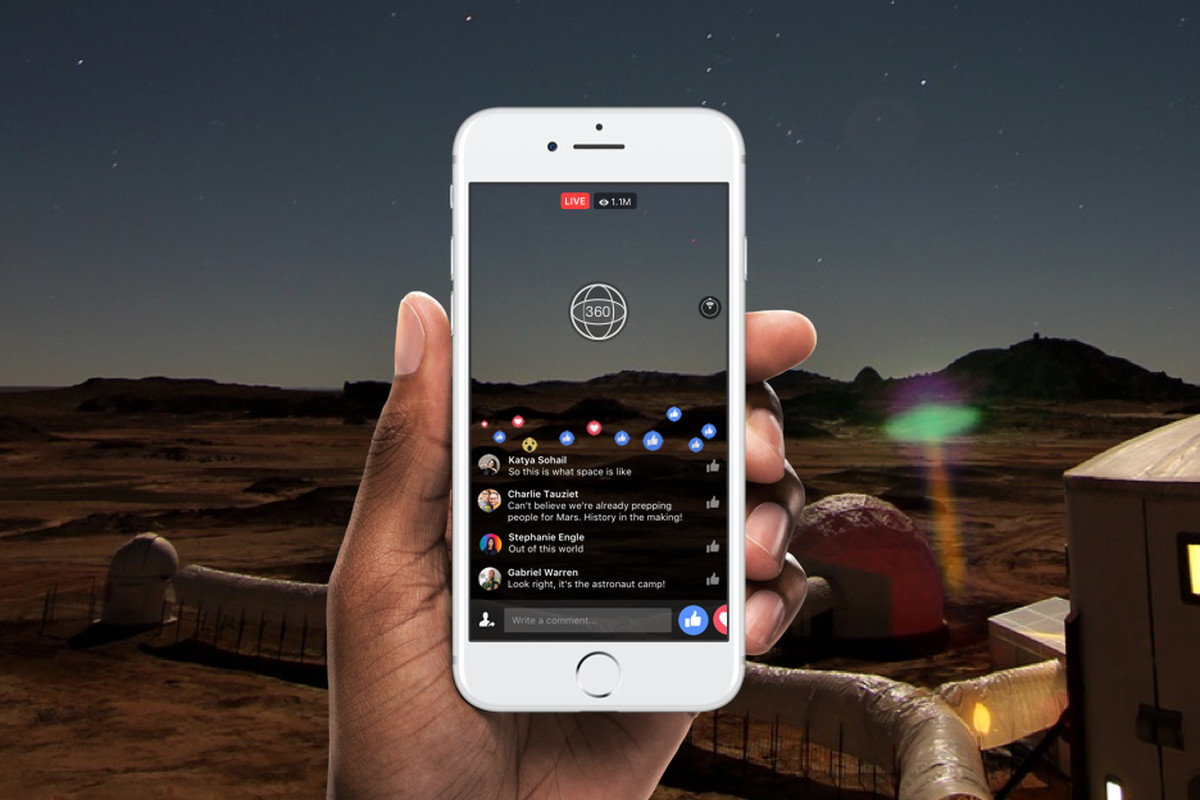 Facebook Will Soon Let You Broadcast 360 Degree Videos Live