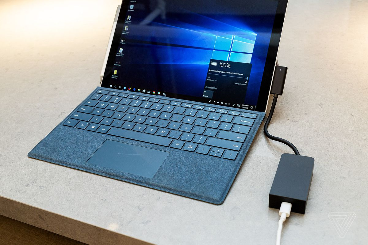 Three Ways Microsoft Could Have Made A Better Surface Usb C Adapter Power Distant Hub Using Only The Cable And Then Most Obvious Fix For This Would Be To Put Port On Pro Laptop Itself Which Obviates Need