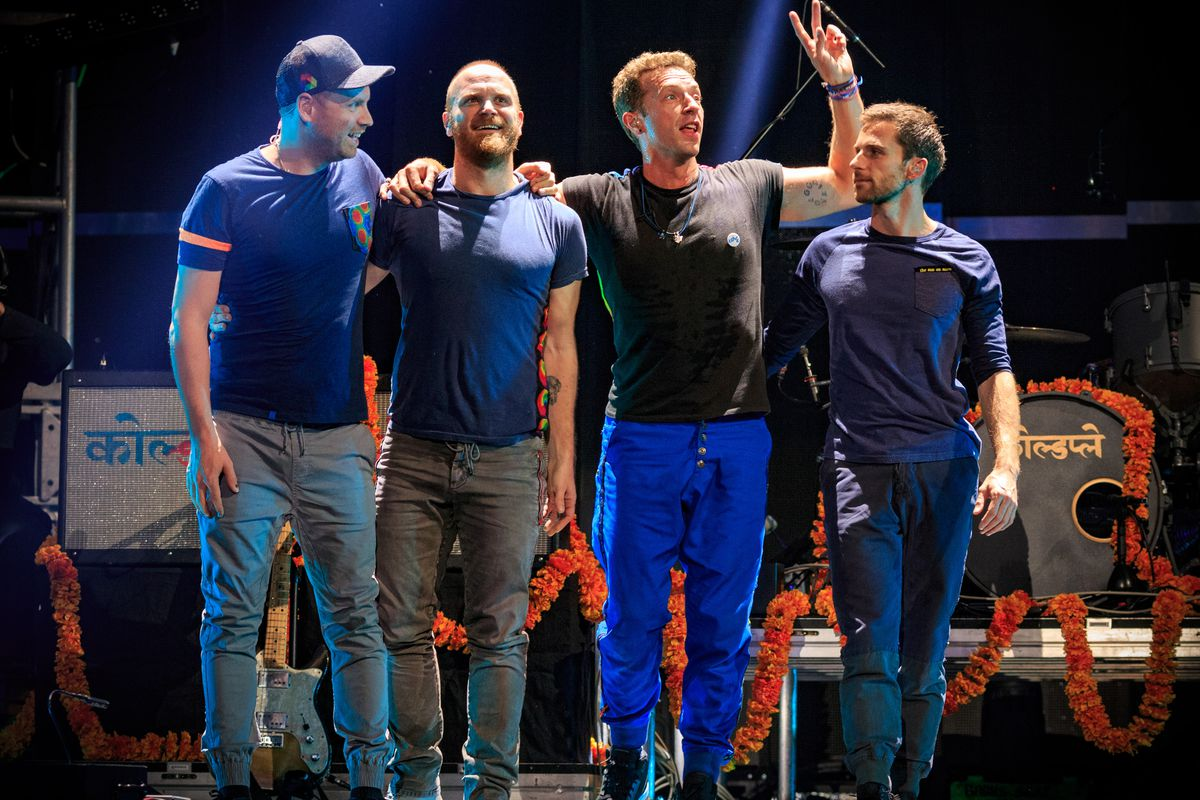 Coldplay are a band that will be playing at the Super Bowl.