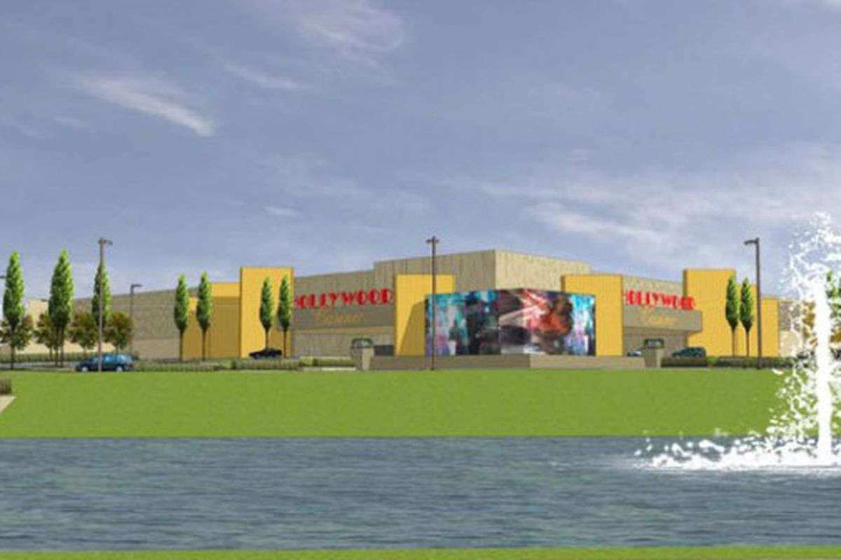 Columbus' forthcoming Hollywood Casino, which will not only not feature a sports book, but evidently caters heavily to Max Headroom and his kind. (Photo Courtesy of Hollywood Casino)