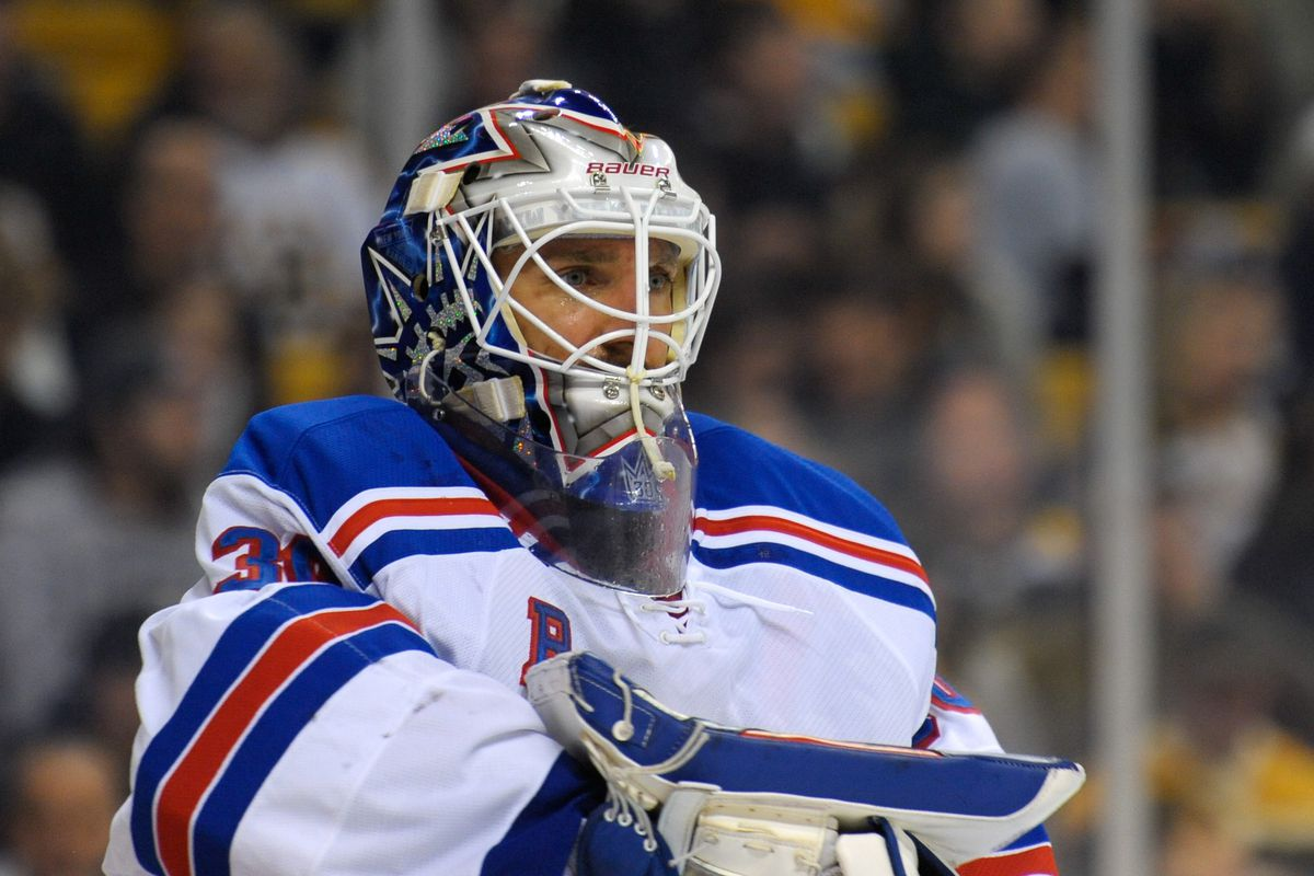 Henrik Lundqvist Contract Extension Rangers Sign Goalie To 7 Year