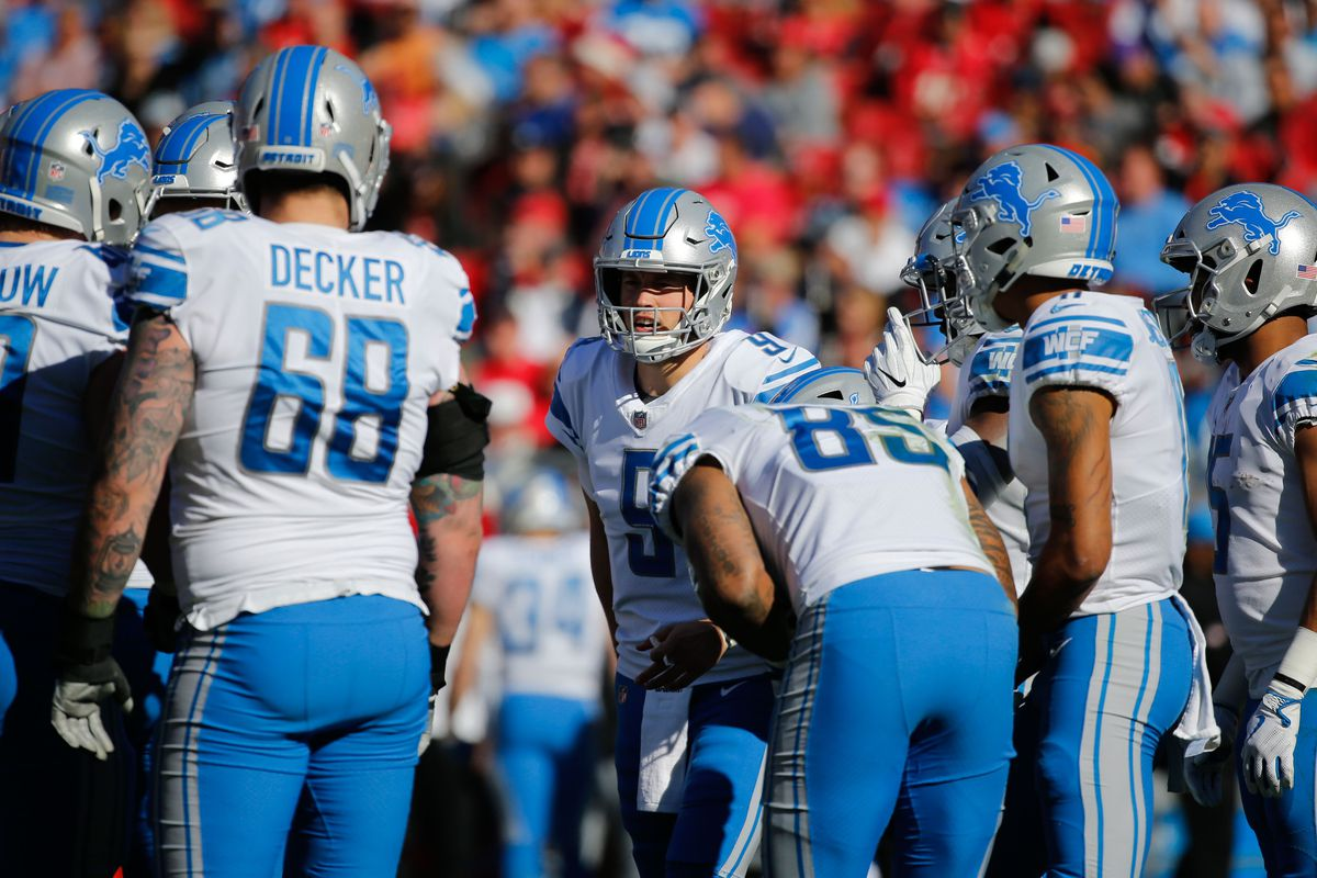Detroit Lions 2018 Depth Chart Breaking Down The First Unofficial Roster
