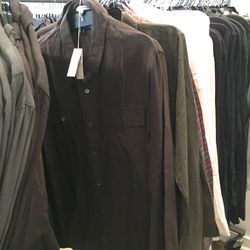 Men's shirt, $60 (was $195)