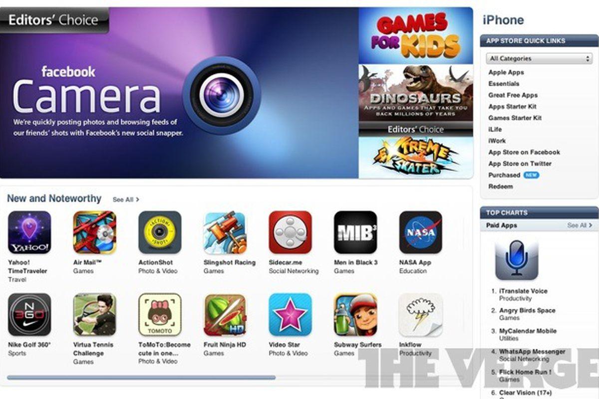 Editors pick popular on web pictures - Itunes App Store Editors Pick Screenshot