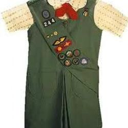 Girl Scouts used to dress like this