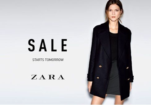 935456f5232 The time you ve all been waiting for has finally arrived. ZARA s  semi-annual sale starts Friday