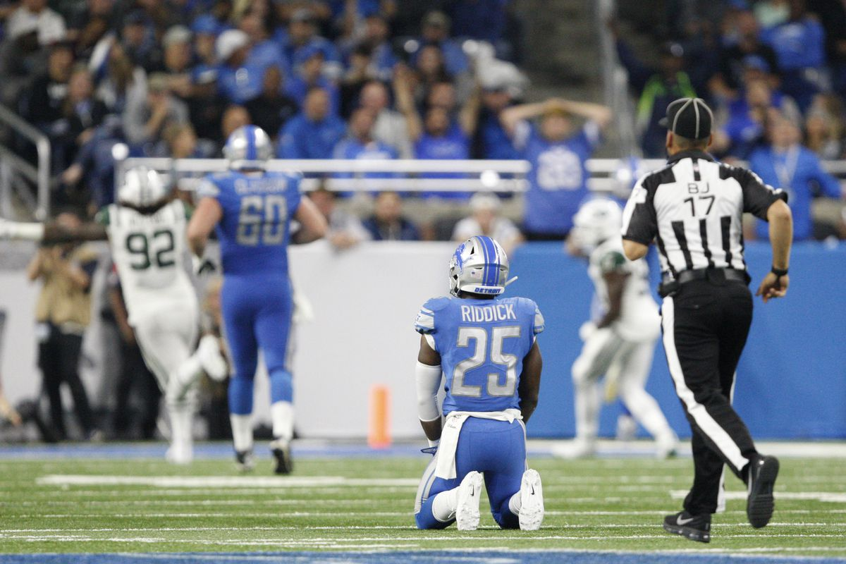 lions vs jets week 1 stock report kenny golladay a lone bright