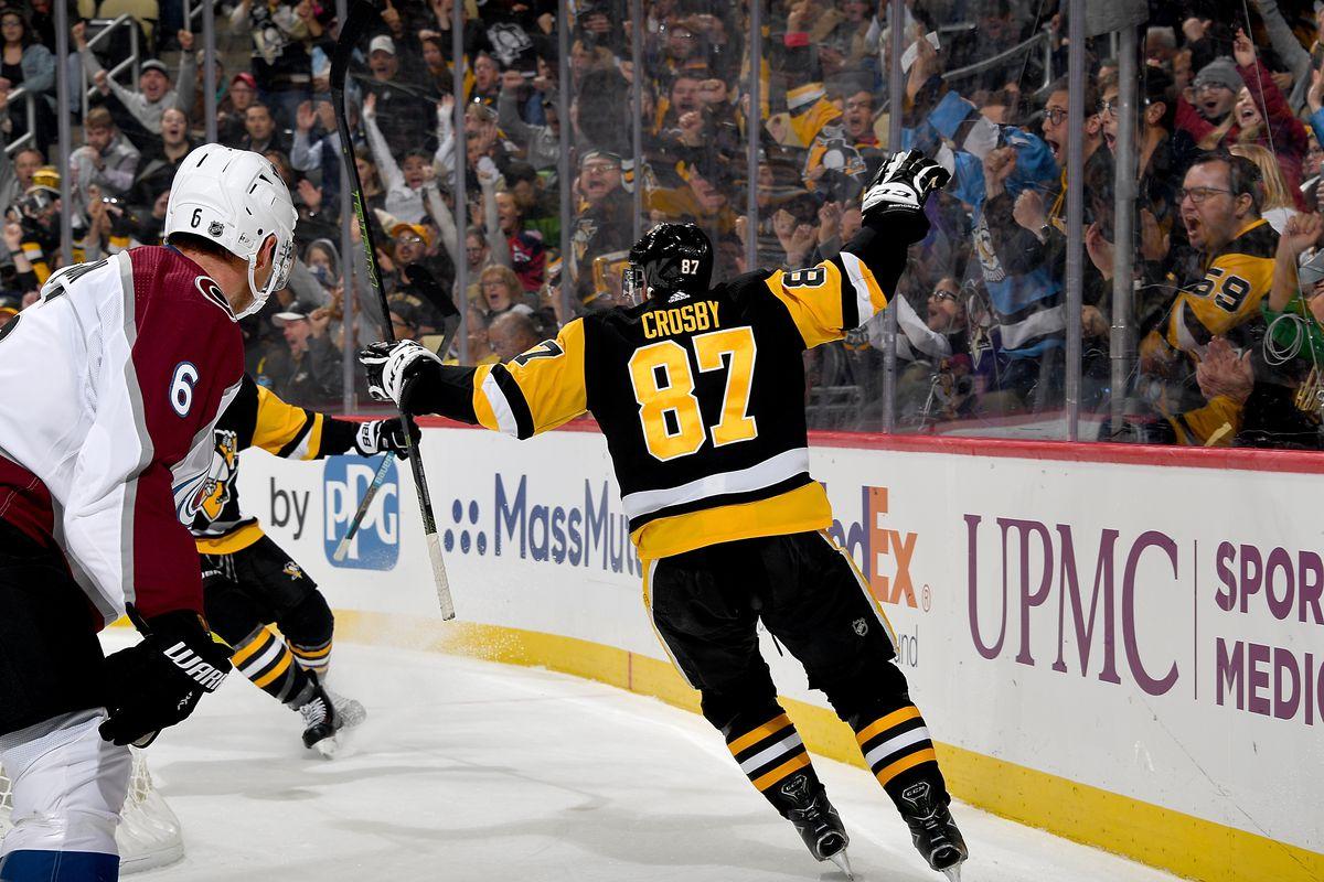 Colorado Avalanche v Pittsburgh Penguins