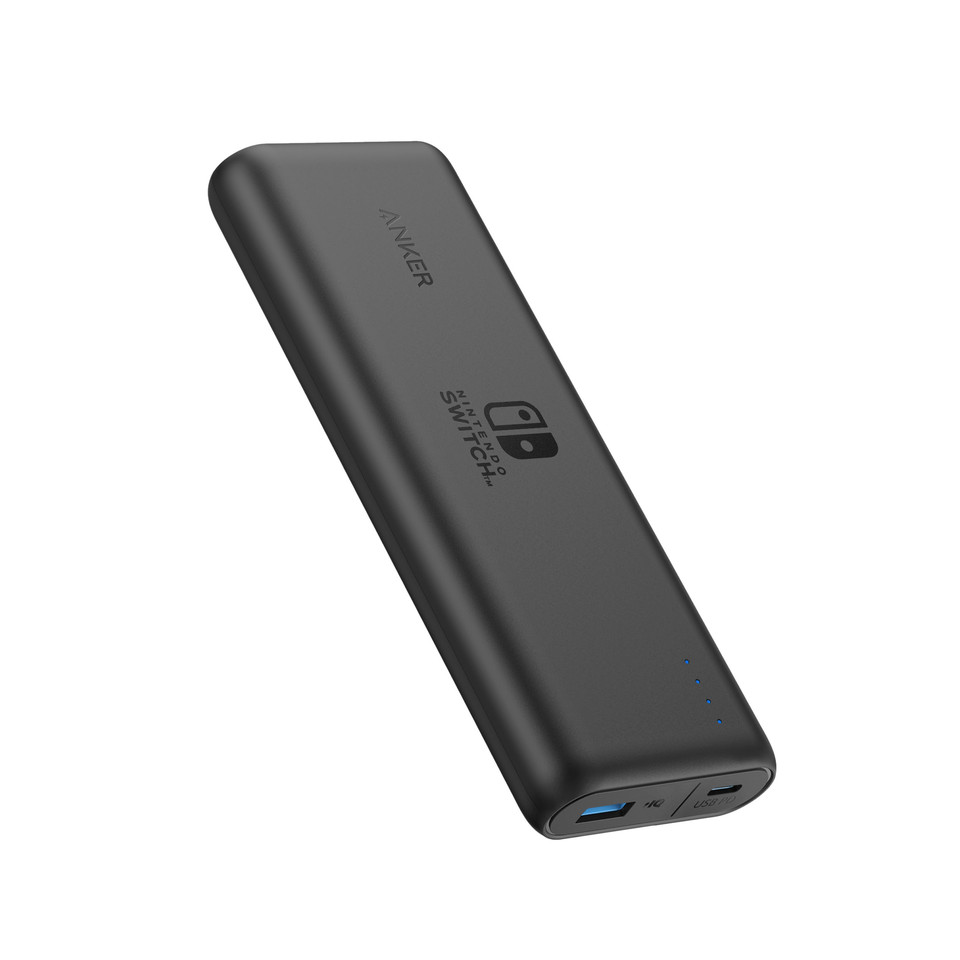 The first officially licensed Nintendo Switch portable charger is