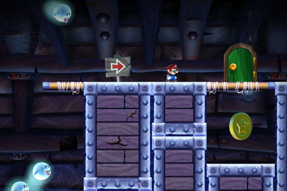Sparkling Waters Star Coins locations: New Super Mario Bros