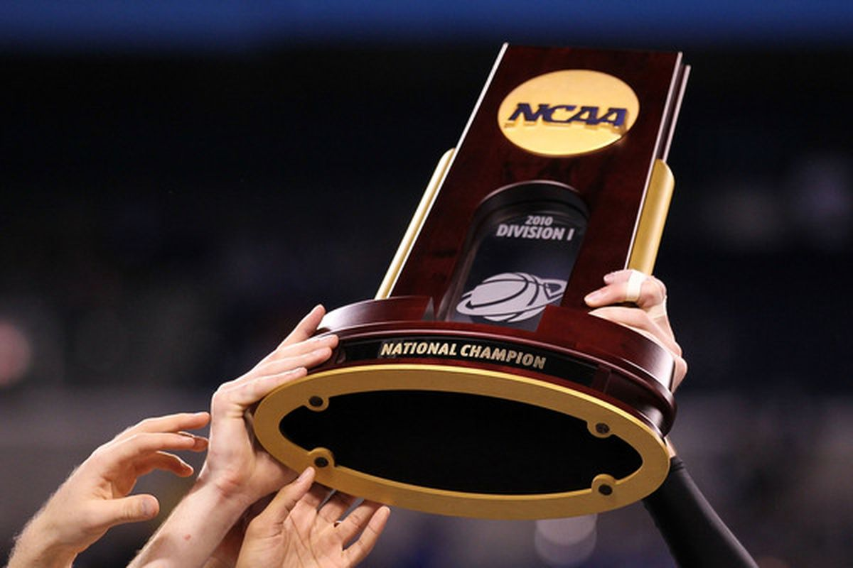 Can a Big Ten team be hoisting this trophy when all is said and done?  (Photo by Andy Lyons/Getty Images)