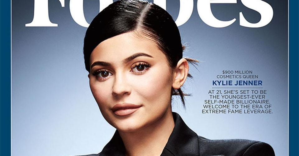 """Kylie Jenner: The controversy over """"Kylie Jenner, self-made"""