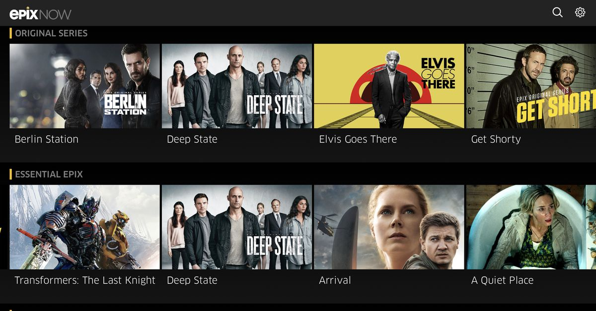 MGM-owned Epix is Jumps into the Streaming Service Arena with EpixNow
