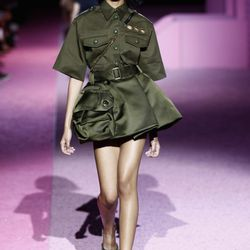 Military at Marc Jacobs. Photo: Getty.