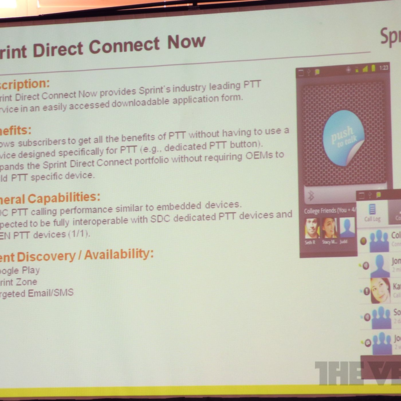 Sprint Direct Connect Now confirmed: Android app brings push