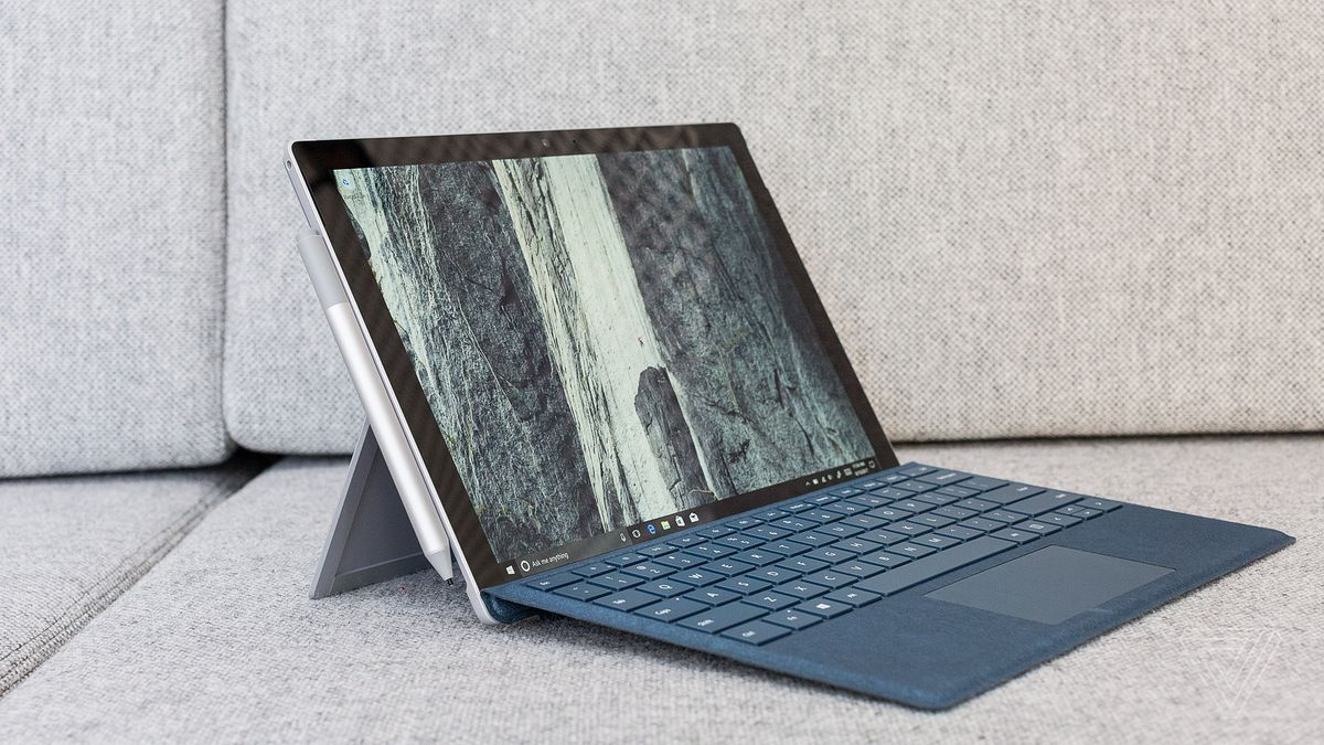 Microsoft Surface Pro Review The New Normal The Verge