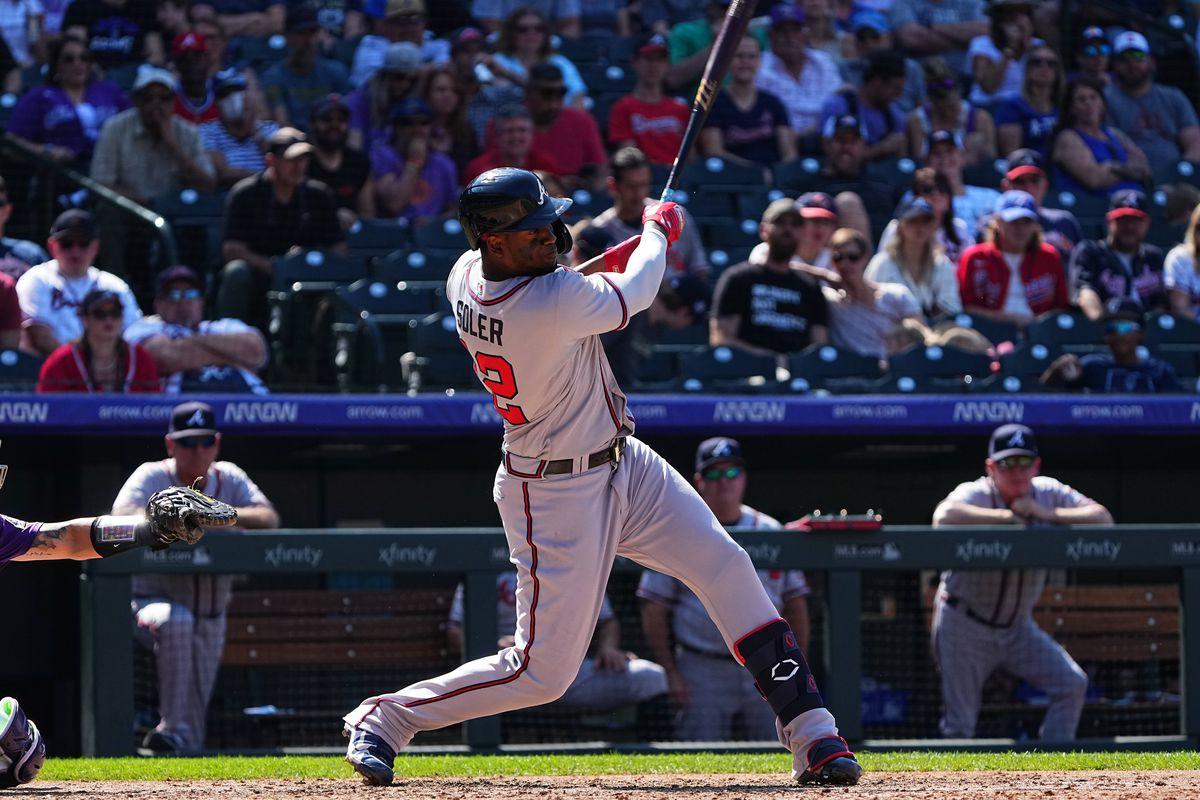 MLB: Atlanta Braves at Colorado Rockies