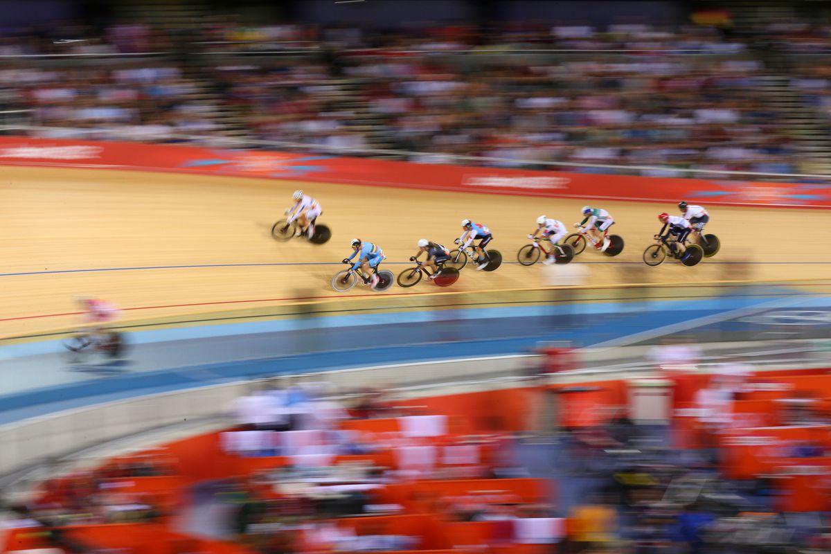 Men's omnium scratch race, London 2012 Olympics