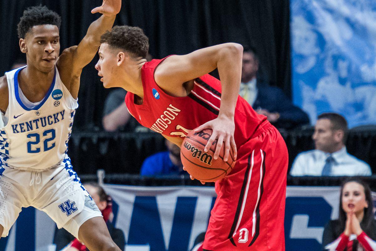 NCAA BASKETBALL: MAR 15 Div I Men's Championship - First Round - Kentucky v Davidson