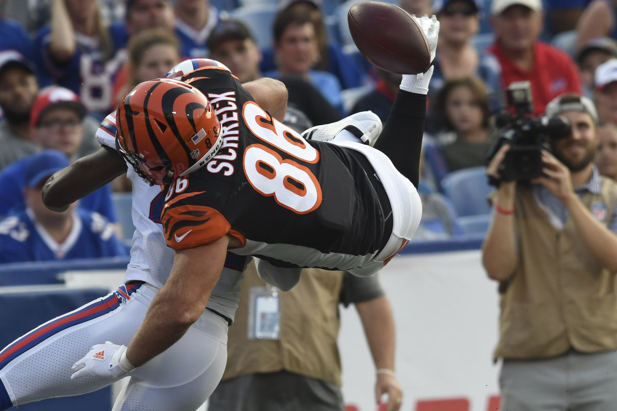 Bengals make 3 roster moves including TE Mason Schreck going on IR ...