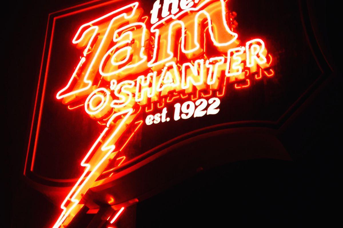 Tam O' Shanter Sign