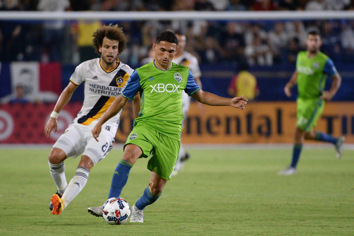 MLS: Seattle Sounders FC at Los Angeles Galaxy