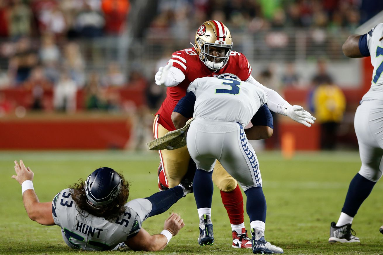 Seattle Seahawks v San Francisco 49ers