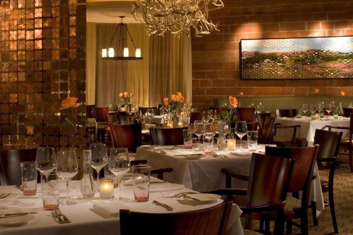 Just over a month left to dine in these swanky surroundings.