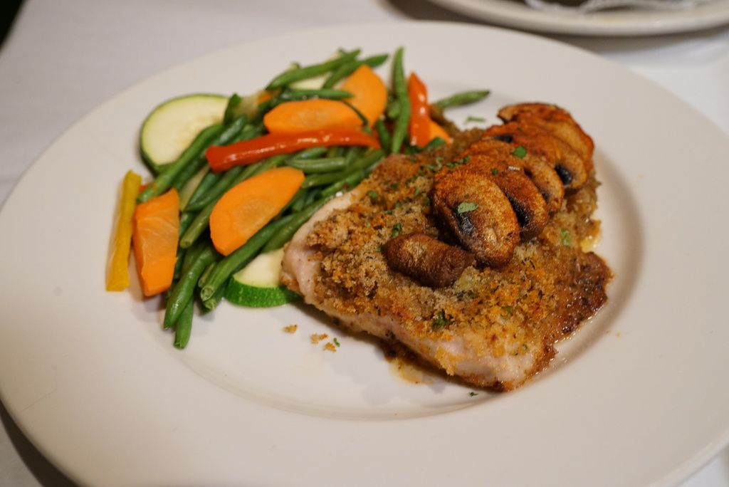 Coregone di Silvaggio, is Lake Superior Whitefish, served withsliced mushrooms, scallions, andfresh vegetables. It is part of the Feast of the Seven Fishes at Italian Village, now officially known as The Village.