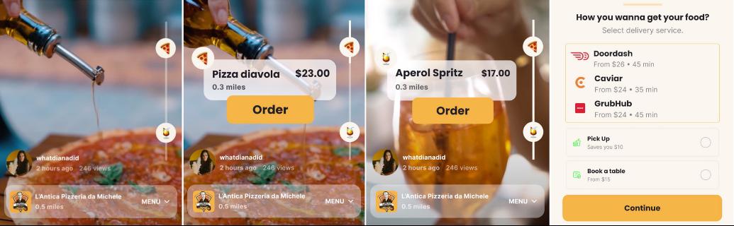 Mustard app on iOS