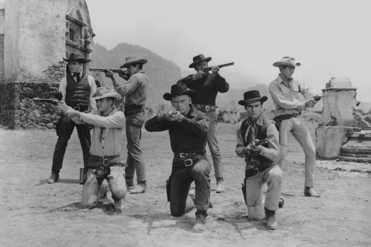 Promo shot from 'The Magnificent Seven' (GettyImages)