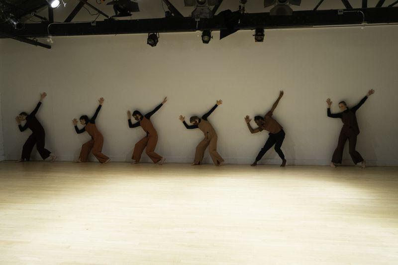 "Winifred Haun & Dancersperform ""Press on, regardless."""