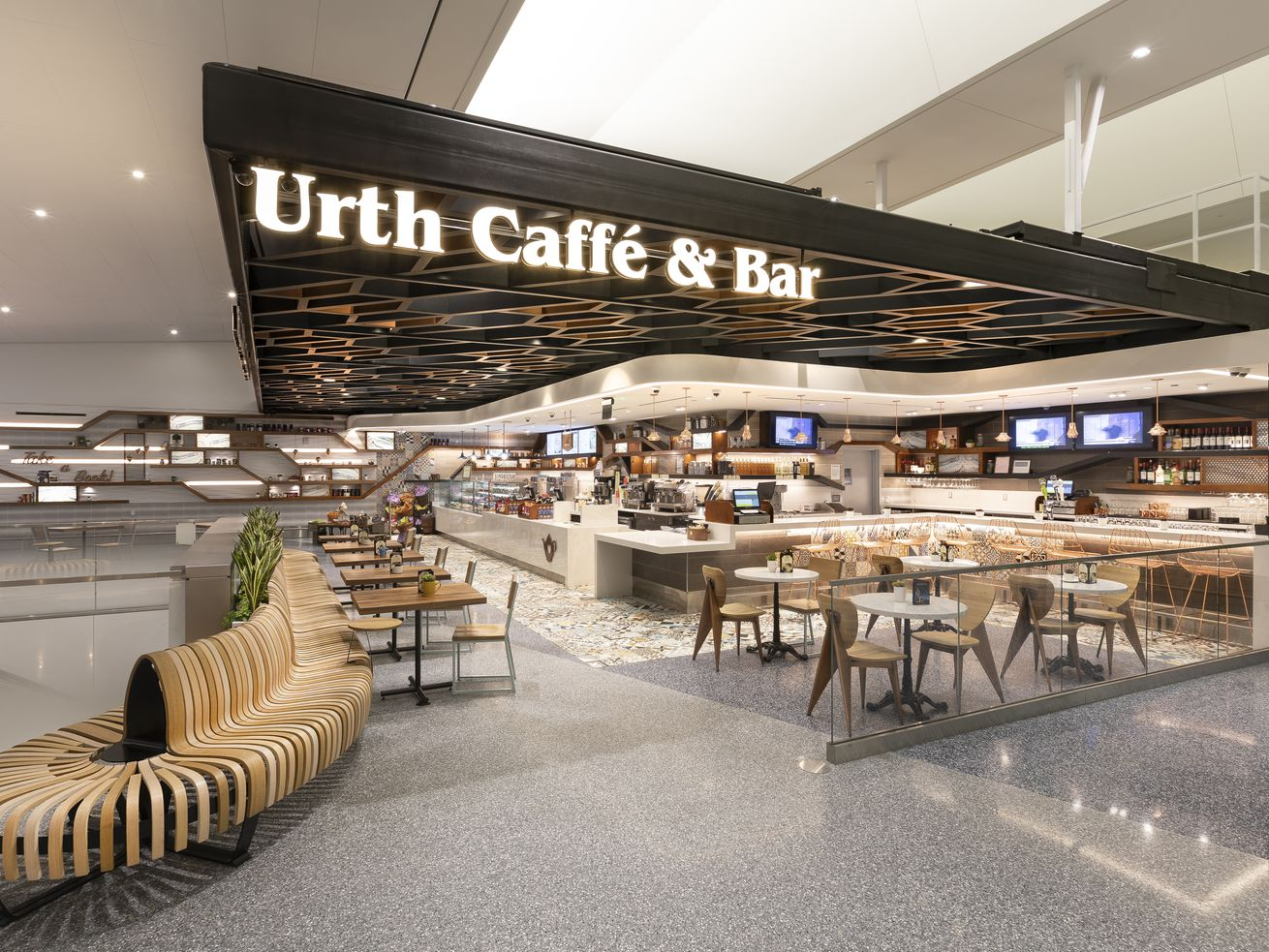 The revamped terminal has new food and retail options.