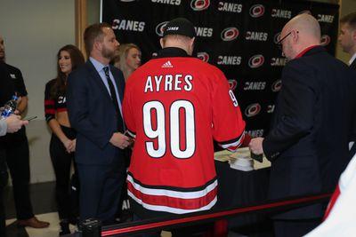 NHL: FEB 25 Stars at Hurricanes