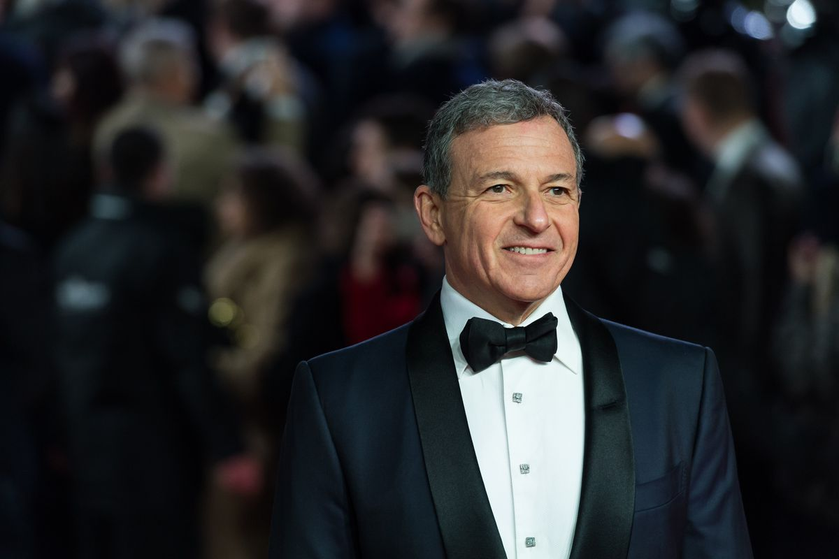 Walt Disney CEO Robert Iger arrives for the European film premiere of 'Star Wars: The Last Jedi' at the Royal Albert Hall in London, on December 12, 2017.