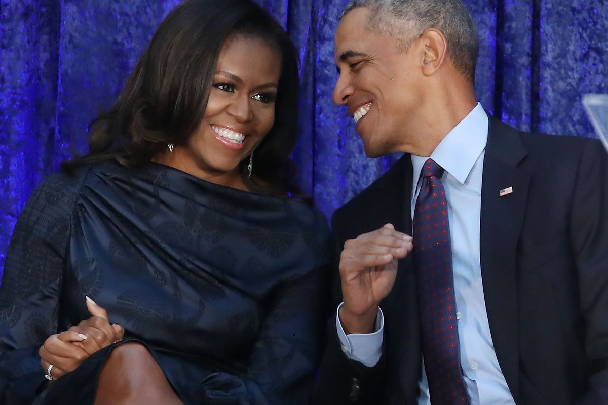 Barrack and Michelle Obama Valentine's Day message