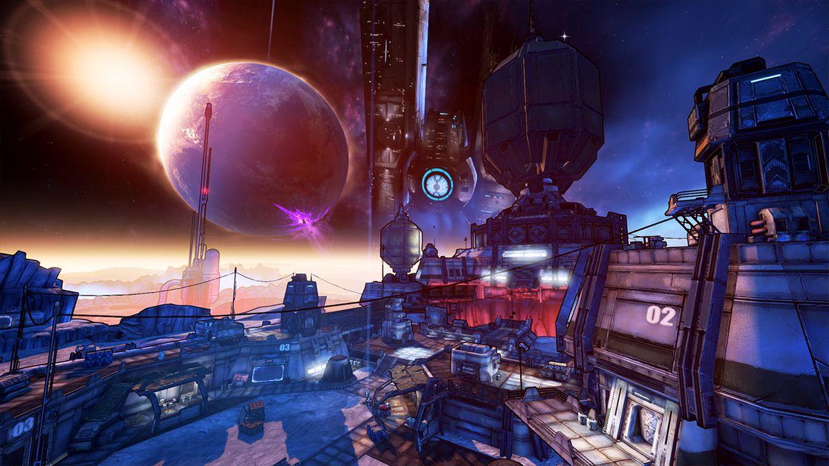 A moon base in Borderlands: The Pre-sequel