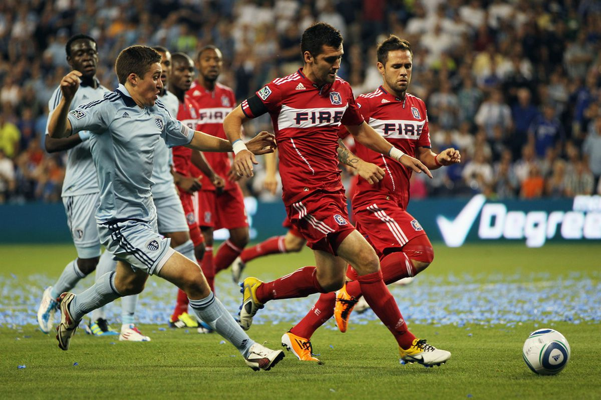Defender Matt Besler and Sporting Kansas City have been chasing a rivalry with the Chicago Fire for some time now. Sporting even hosted the Fire in their inaugural match at LIVESTRONG Sporting Park last season.