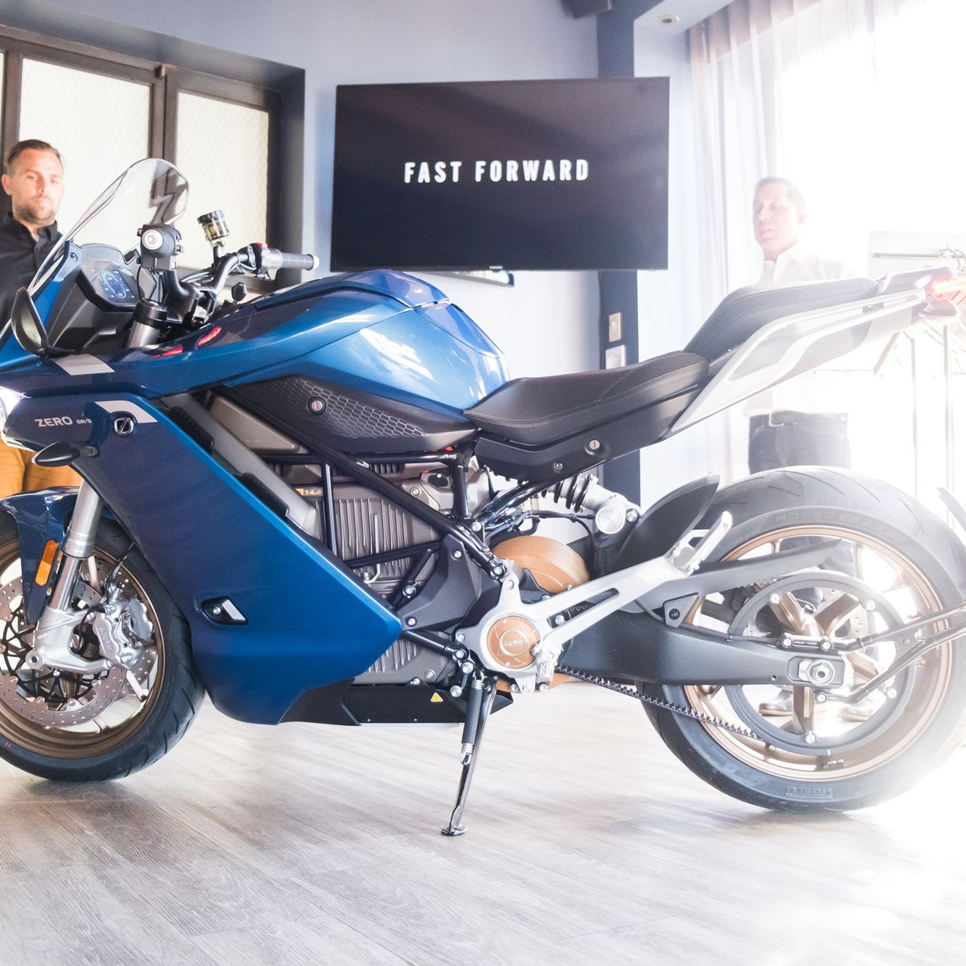 Zero Unveils The Sr S The Gulfstream Of Electric Motorcycles The Verge