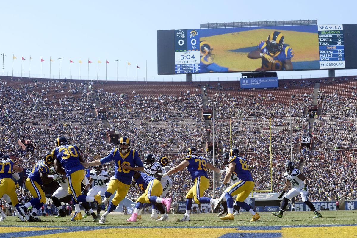 Seattle Seahawks at Los Angeles Rams