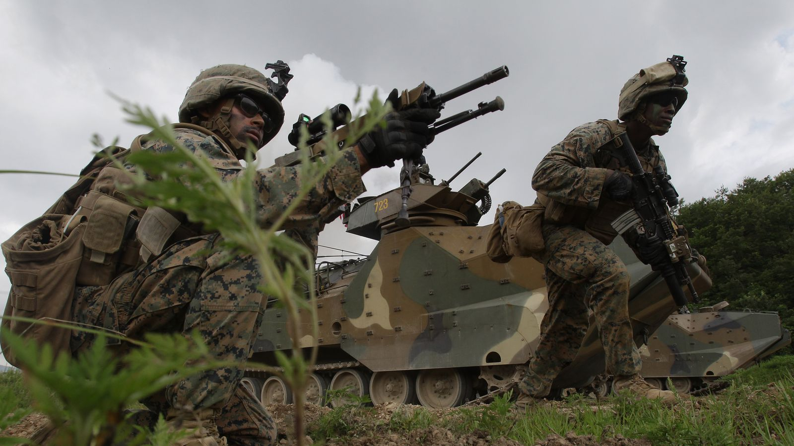 US Marine Corps issues video statement on naked photo